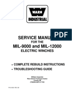 Warn Manua for Repair of Mil 12000l 715