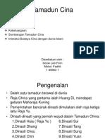 Presentation Tamadun Cina