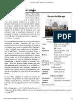 Revolución Naranja - Wikipedia, La Enciclopedia Libre