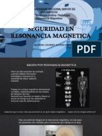 Seguridad en Resonancia Magnetica