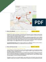 Granada Itinerario Días 1,2 y 3