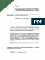 Calendario de Adjudicaciones de Profesores de Enseñanza Toledo