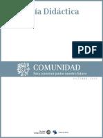 Guía Didáctica dia Comunidad