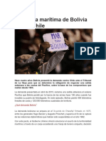 Chile Bolivia Mar