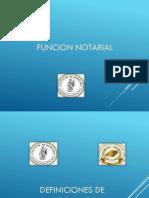 Naturaleza de La Funcion Notarial