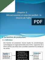 MicroEconomie Chapitre 3 2017-2018