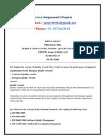 OM0016_fall_2017 Solved SMU Assignment