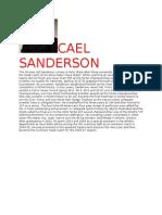 CAEL SANDERSON