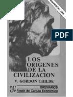 CHILDE Los Origenes de La Civilizacion Gordon Childe Cap V