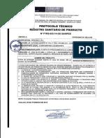 Registro Sanitario Anchoveta en Salsa de Tomate 425