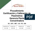 Procedimiento de Calibración y Certificacion Pesometros_Rev_1