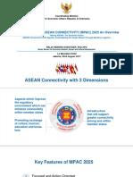 Talking ASEAN Maritime Logistics Raldi Hendro Koestoer
