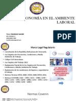 Ergonomia y Ambiente Laboral