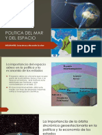 Politica Del Mar y Del Espacio Contexto Geopolitico 1