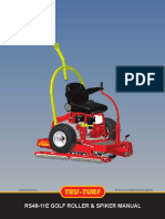 Tru Turf Roller Manuals RS48-11E Manual