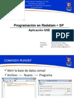 Programacion Redatam