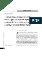 Alejo Carpentier y Cultura