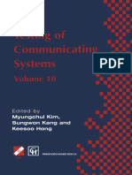Testing of Communicating Systems Volume10 - M. Kim, S. Kang & K. Hong