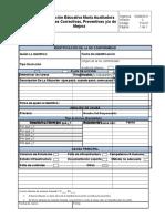 Formato de Acciones Correctivas y Preventivas F-D-07