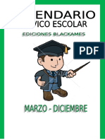 CALENDARIO CIVICO ESCOLAR