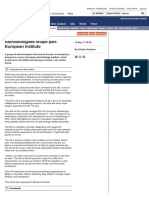 Astrobiologists shape pan-European institute