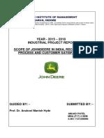John Deere Project Report Final