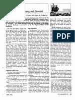 Alum Sludge Thickening and Disposal 1973 JAW