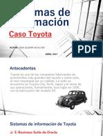Sistema de Informacion Toyota