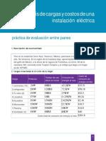 Analisis de Cargas y Costos de Una Inst. Elect.