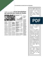 Crecimiento de Inversiones Por Fondos Mutuos