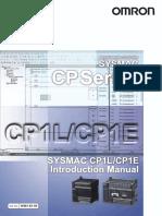 W461E104 CP1L CP1E Introductory Manual
