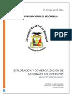 Mineria No Metalico Caolin.docx