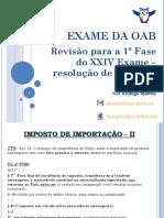 Estratégia - OAB - Revisão de VÉSPERA Para a 1ª Fase - 18.11.2017 - Versão Alunos
