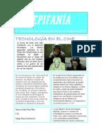 Tecnologia en El Cine