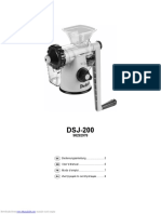Manual Dsj200