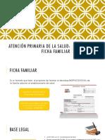 Ficha Familiar y Caso