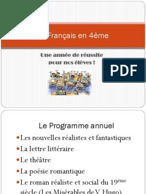 4eme Francais 2015 16pdf