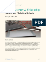 Digital Literacy and Citizenship Models for Christian Schools