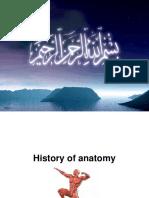 History of Anatomy2017