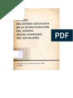Walter Ulbricht - El Papel Del Estado Socialista