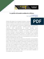 Garcia, Rodolfo. La Quiebra Del Modelo Neoliberal en México