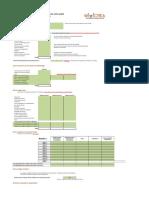 Plan de Financement Prévisionnel Association Loi 1901 Gratuit 1