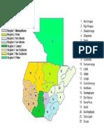 8 Regiones de Guatemala