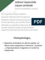 Amoloidosis Liquenoide