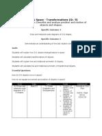 math 9 - unit 7 transformations