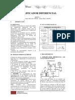 Amplificador Diferencial (Benigno)