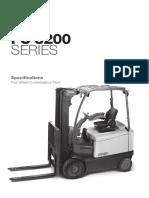 Forklift Fc5200 Spec GB