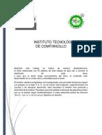 Instituto Tecnológico de Comitancillo