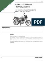 Manual Naga 200