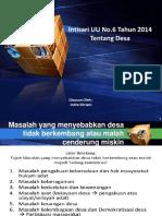 Intisari UU NO 6 TAHUN 2014